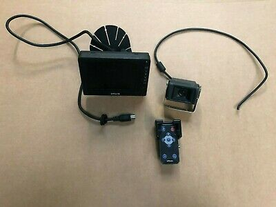Brigade Rear View Camera System Screen Monitor VBV-750DM