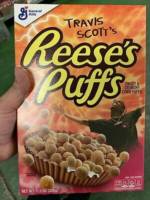 Travis Scott x Reese's Puffs cereal SOLD OUT - Look Mom I Can Fly 16 Box Bulk