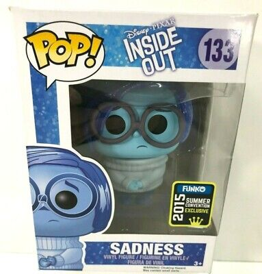 **NEW** FUNKO Pop Disney Pixar Inside Out SADNESS 133 Vinyl Figure