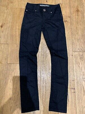 New!! Newlook!! Girls Black, Skinny Jeans, Age 11 Years, Unwanted Gift