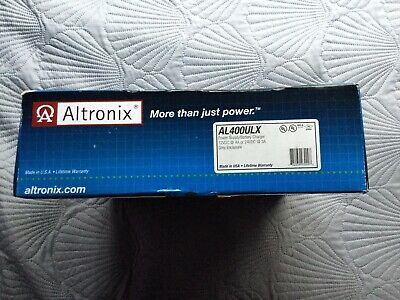 New In Box   Altronix Al400Ulx Ul Listed Power Supply/Battery Charger, 12/24 Vdc