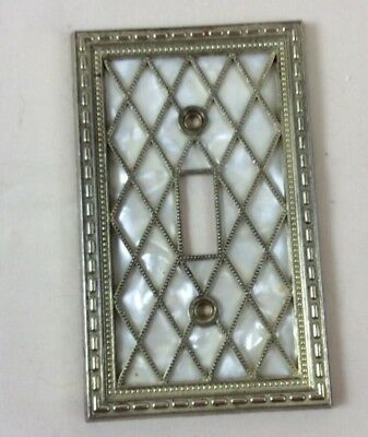 Vintage Mid Century Modern American Tack & Hdwe 1976 Switch Cover