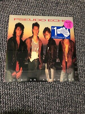 Pseudo Echo Lp Love An Adventure. Sealed. 1987