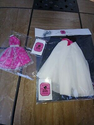 2019 Nat'l Barbie Doll Convention Gifts~Diamond Jubilee Ball Gown and Dress~NRFB