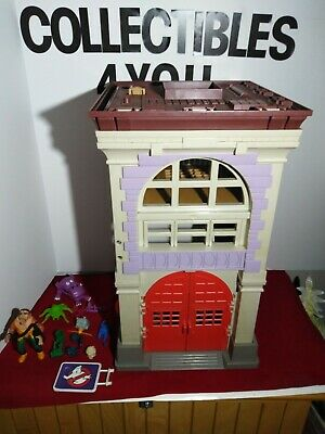 fire house ghostbusters the real kenner sign plastic remplacement