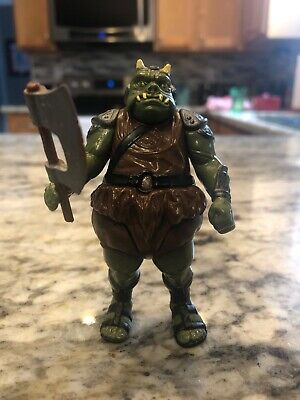 Vintage 1983 Star Wars Jabba The Hutt Gamorrean Guard Complete Weapon Hong Kong