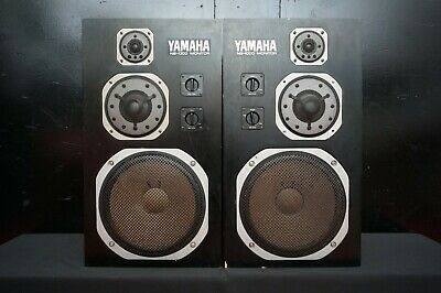 Yamaha NS-1000M High Quality Monitor Speaker System Matched Pair - SN: 26683 L&R