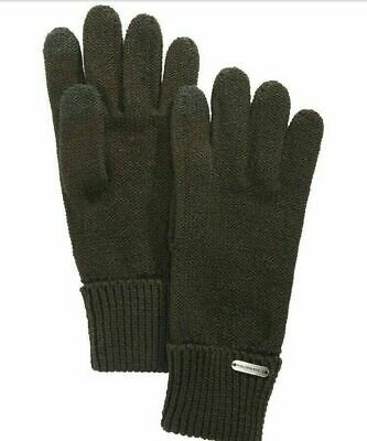 Steve Madden Womens Green Touch Gloves One Size Casual
