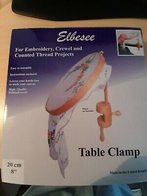 "Elbesee 8"" table clamp.as new in box"