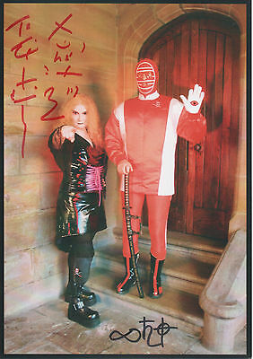 KENDO NAGASAKI & ROZ McDONALD Signed 8x6 Photo WRESTLING LEGEND COA