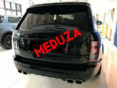 Range Rover L405 SVO Style Rear Bumper & Tailpipes