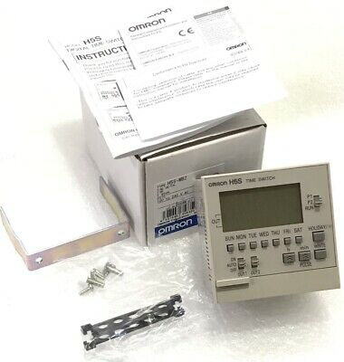 New OMRON H5S-WB2 Digital Time Switch Weekly timer, 100-240VAC, 2 Output Relay