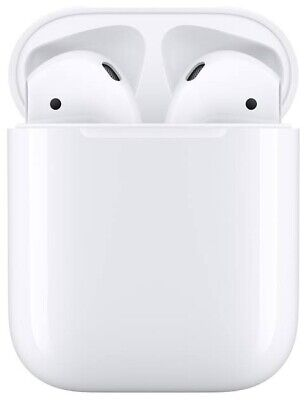 NEW Apple AirPods (2nd Gen) with Charging Case A2032 A2031 A1602- White