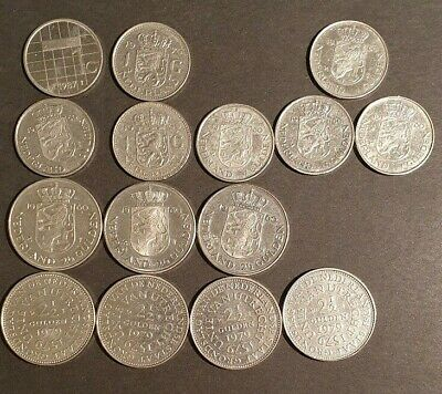 NETHERLANDS - Selection of vUNC Coins