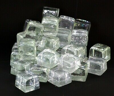 Artificial Ice. Fake Ice. Ice Cubes. Glass Ice Cubes. Bar Display. Ice. Displays
