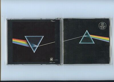 Pink Floyd Dark Side of the Moon Japan No Barcode Harvest CD 1984 CP35 Non to