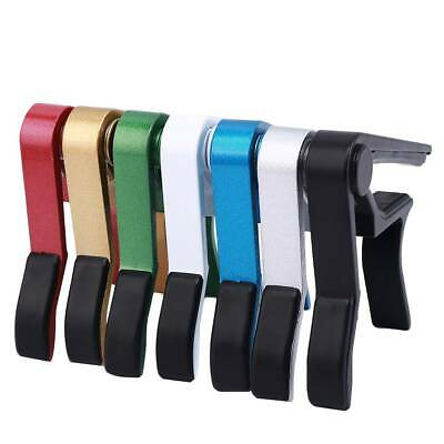 Engraved Spring Trigger Guitar Capo for Acoustic Electric Lin