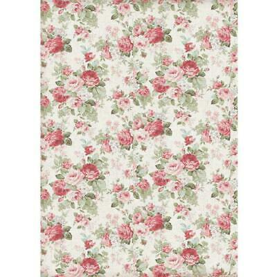Rice Paper - Decoupage - Stamperia - 1 x A4 Size Sheet - Big Roses