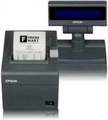 Stampante Fiscale POS Epson FP81II Ethernet 80mm RT + Display + tastierino