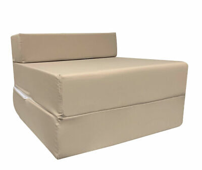 Z Bed Fold Out Foam Chair bed Chair Foam Folding Guest Sofa Single Sofa / Bed