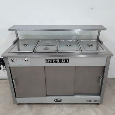 Commercial Hot Cupboard Bain Marie Carvery Caterlux Atlas