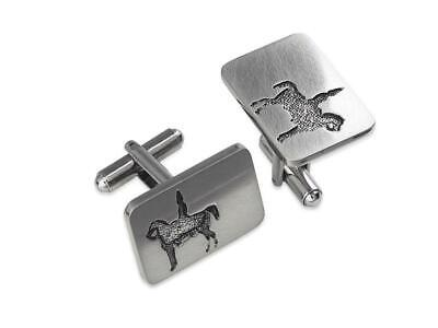 Scottish Duke of Wellington (with cone) Cufflinks -  Authentic Cufflink of Glasg