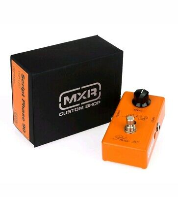 MXR Custom Shop Phaser 90 Script LED - Pedale come nuovo con imballo originale