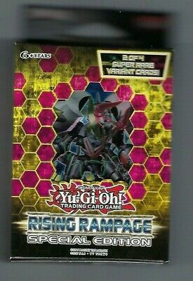 Preorder Sealed Yu-Gi-Oh! Rising Rampage Special Edition