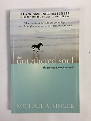 The Untethered Soul Michael Singer, Underlining & Other Marks Inside - See Pics