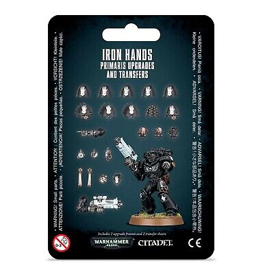 Iron Hands Primaris Upgrades & Transfers Space Marines Warhammer 40K SHIPS 9/21