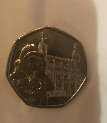 Brand New Uncirculated Paddington Bear 2019 50p