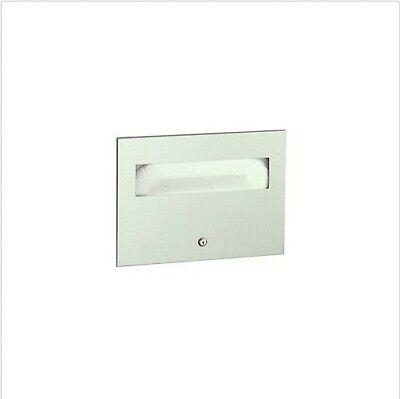 Bobrick B-3013 Stainless Steel Recessed Seat-Cover Dispenser