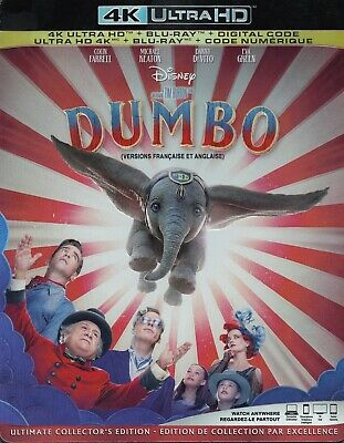 Dumbo (2019)(Live Action) (4K Ultra Hd/Bluray)(2 Disc Set)(Used)