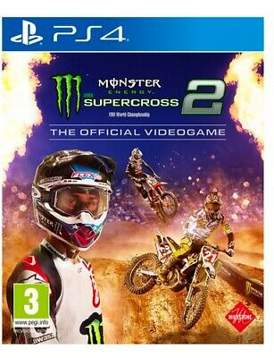 Milestone Monster Energy Supercross 2 Sport 3+ PS4 1031531