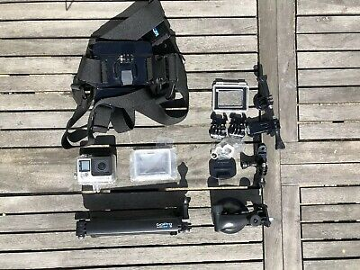 GoPro Hero 4 Silver Edition With Official Chest And 3 Way Mount