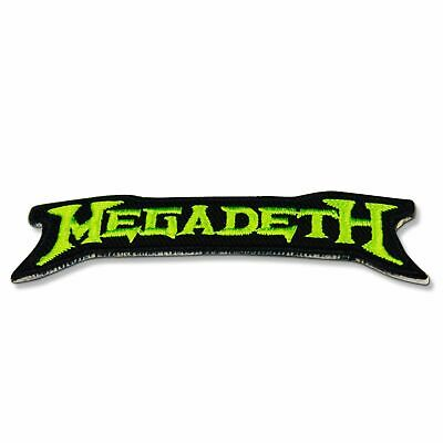 Megadeth Patch Iron Metal Embroidered New 1 X 2 Free 4 Thrash Music Shipping Inc