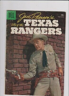 Jace Pearson's Tales Of The Texas Rangers #12 Dell 1956   Gd Low Grade.
