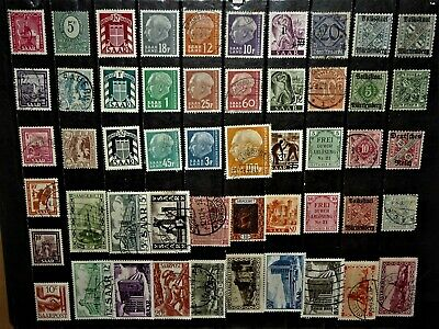 World Wide Stamps / Saar Wurttemberg Prussia for your Collection !!!!