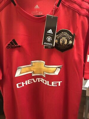 brand new d3251 165ff MANCHESTER UNITED MARCUS Rashford 19-20 Home Long Sleeve ...