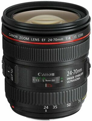 NEW Canon EF 24-70mm f/4L IS USM Lens - UK NEXT DAY DELIVERY - LENS ONLY
