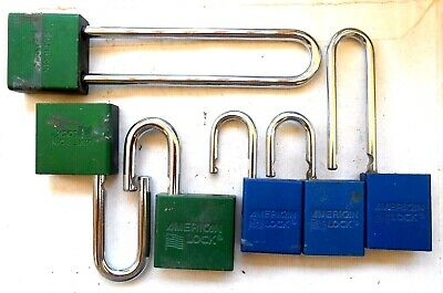 LOT of  AMERICAN lock Padlock PARTS   Locksmith