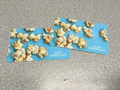 Two (2) $25 Cineplex Cards - $50 Total - Lot 2