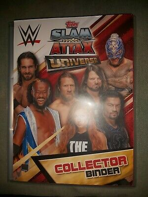 WWE Slam Attax Universe Complete Set 100% 364/349 inc Relic x 5 and CC