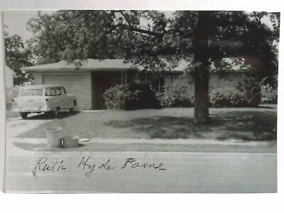 Ruth Hyde Paine Authentic Hand Signed 4X6 Photo -  John F Kennedy Assassination