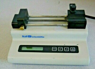 KD Scientific KDS 100 Single Syringe Infusion Pump Digital Laboratory