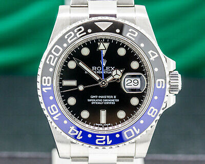 Rolex 116710 GMT Master II 116710BLNR EXCELLENT CONDITION WITH BOX!