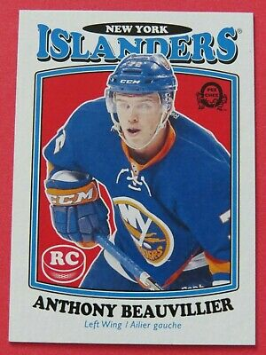 2016-17 OPC O-Pee-Chee Retro Anthony Beauvillier RC # 705 -  NM-MT