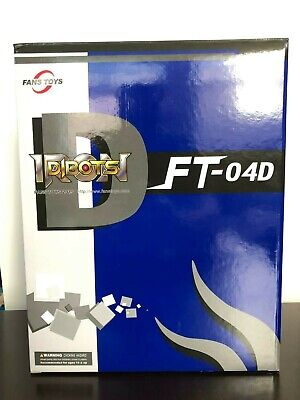 FANSTOYS Transformers FT-04D Iron slag Triceratops blue Recoat limited edition