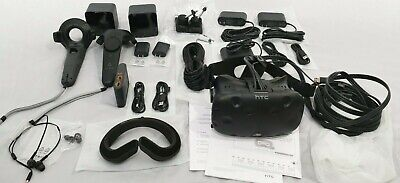 HTC VIVE, Virtual Reality System, Complete, 2 Base and 2 Controllers,VR,Virtual