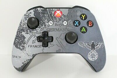 Microsoft Xbox One S Bluetooth Wireless Controller w/ST German Eagle Face Plate